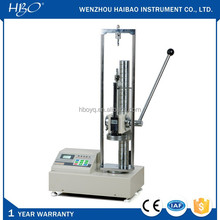 1kN-5kN digital display manual operation spring tensile and compression testing machine instrument