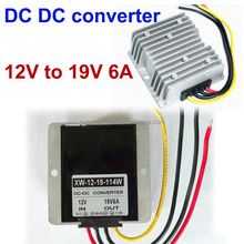 Customized DC DC boost converter 9V-19V to dc 19V 6A 114W high power step up voltage module