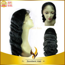Wholesale Malaysian Virgin Human Hair Wigs with Baby Hair Full Hand Tied Unprocessed Body Wave Full Lace Wig