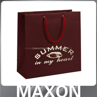 Hot sales!!! colorful die cut handle paper bag
