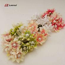 New Style Artifical Box Decoration Flowers Wedding Craft Decor.