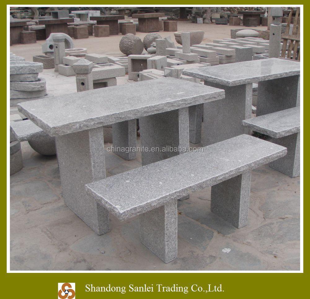 Bancos de piedra para jardin precios barbacoa de obra for Bancos de granito para jardin