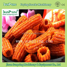 2015 automatic crispy delicious good quality frying snack food machine