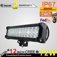 High Lumens! 2PCS/LOT! 12inch 72W LED LIGHT OFF ROAD FOR 4x4 OFF ROAD ATV TRUCK BOAT UTV MOTORCYCLE LED DRIVING LIGHTS