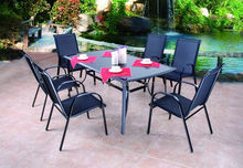 Mix style wholesale rattan cube garden furniture /outdoor lounge furniture