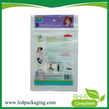 China Factory Price High Quality kraft paper bag with window and zipper
