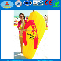 Inflatable Flip Flop Pool float, Inflatable Thong Float, Inflatable Slipper Float Mattress