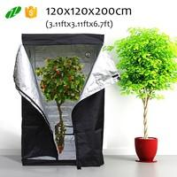 120x120x200cm indoor hydroponic mylar grow tent