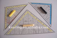 triangle ruler with handle