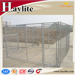 galvanized easily assembled outdoor chain link dog kennel