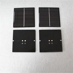 Customized 73*67mm 2v 0.5w mini epoxy solar panels/ solar cells for led light