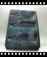 Hot sale plastic tray for liquor bottle packaging manufacture