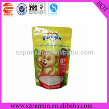 Plastic Food Packaging Pouch with Zip Lock, HACCP, FDA, SGS Marks