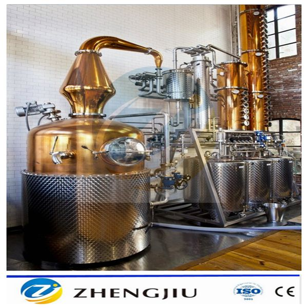 Thuis alcohol distillatie apparatuur voor whisky rum gin wodka brandy geest distilleerder - Thuis container verkoop ...