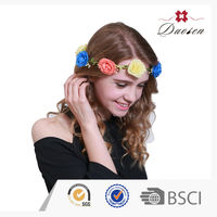 Bsci Certificate Decorative Easter Hair Garland Decoration For Graduation
