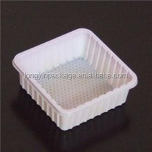 compartment disposable food tray/plastic disposable frozen food tray/disposable plastic divided food tray