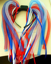 happy new year Most Popular LED Glowing Hair Noodle For Christmas