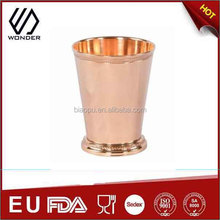 stainless steel Copper Moscow Mule Mint Julep Cup