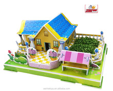 High Quality, Manufacture Hot SaleThe Children game Educate DIY EPS 3D Planting Puzzle