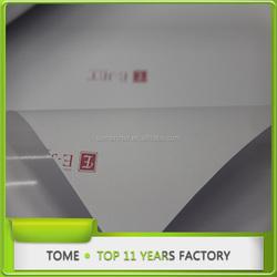 E-jet printable vinyl sticker for glass with good glue