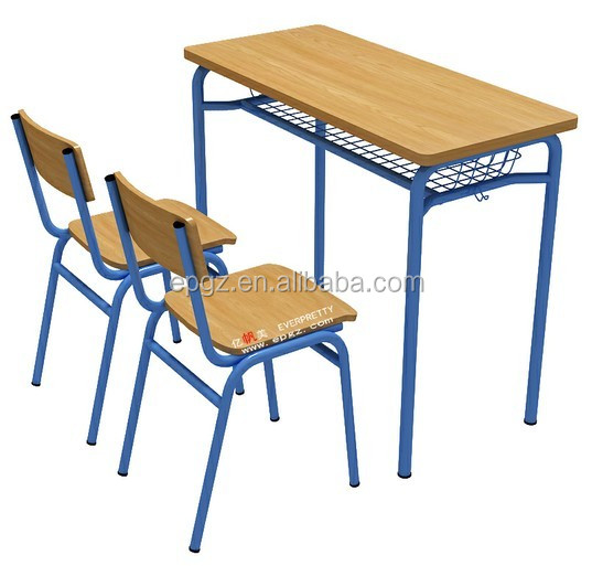 Used School Furniture For Sale Factory Price Double Seat
