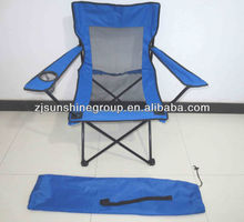 Folding mesh chairs