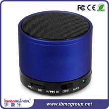 Stylish 3.5mm audio jack blue portable music bluetooth speaker