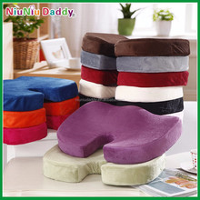 2015 new wholesale coccyx orthopedic comfort memory foam chair seat cushion