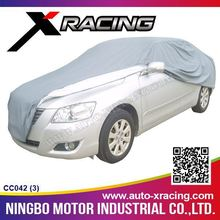 XRACING-2015(CC042-L) HIGH QUALITY 250g PVC non-woven CAR COVER/ Padded Cotton Resist Snow Hail Protection Car Cover