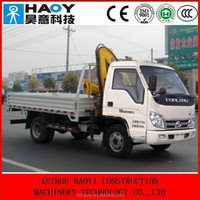 FOTON 4*2 mini cargo truck dump truck,truck mounted crane for sale