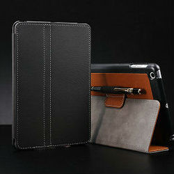 2015 Wholesale Durable fashion stand case for mini ipad leather smart cover case,hot selling cover for ipad mini with stand