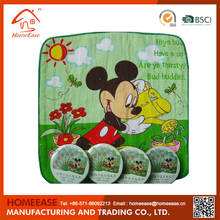 Wholesale Cheap 100% Organic Cotton Towel,Compressed Towel,Cartoon Magic Towel