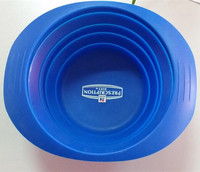 Wholesale Factory Personalized fancy silicone pet bowl