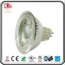 protection glass cover MR16 led spotlight 5w Epistar chips