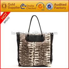 Unique stylish leather lady handbag big designer bags handbags for women