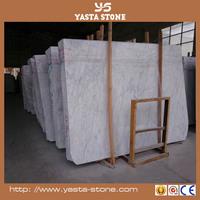 Chinese popular elegant italian calacatta white marble slab
