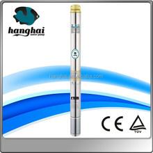 Non corrodible materials deep well centrifugal submersible pump