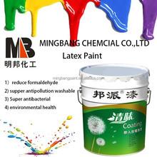 China washable interior emulsion wall paint