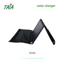 5V Portable Solar Charger for smart phone and laptop USB foldable solar panel charger for mobiles
