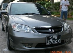 Honda civic1.6a Automotive for export used car