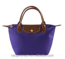 Hot sale nylon tote bag, waterproof tote bag, folding tote bag