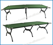 High weight capacity big folding outdoor double bed