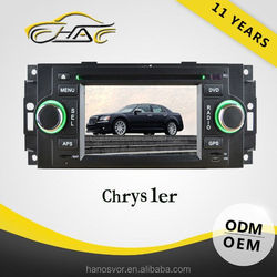 Touch Screen Car Radio 2 Din For Chrysler 300C DVD GPS With Rear-view Camera