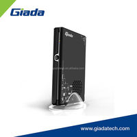 Black slim design 19V DC-IN all in one barebone PC with Wireless lan