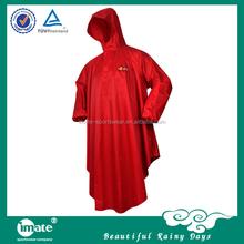 Luxury foldable pvc rain coat waterproof poncho