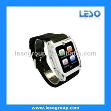 2013 Newest Smart Watch Bluetooth phon With Sync Function Sync Phonebook Call and SMS for Your Iphone and Android Mobile Phone