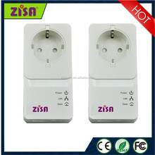 ZISA PLC 1000M homeplug wireless communication Powerline Adapter