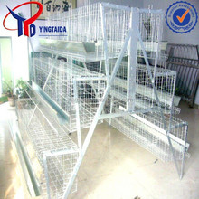pvc coated or galvanized chicken battery pens /chicken cage pens