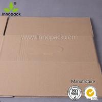 3-Ply Rigid Kraft Paper Wax Coated Paper Food Box Wholesale