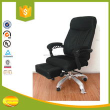2015 new design ergonomic folding reclining lounge office chair with footrest BY-1558